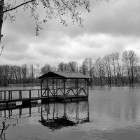 Беседка на воде :: Андрей Зайцев