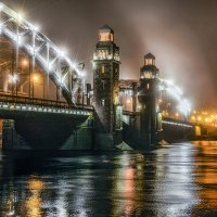 Императорский мост в Санкт-Петербурге. :: Василий Голод