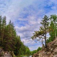 Водопад на равнинной реке :: Ольга СПб