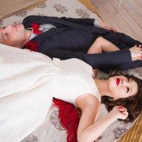 свадебная фотосессия в студии :: Нина Бородина