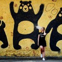 Парящая Маша и три медведя :: Мария Морозова