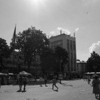 Вечевая   Площадь   в   Ивано - Франковске :: Андрей  Васильевич Коляскин