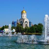 Храм Георгия Победоносца на Поклонной горе :: Анатолий Колосов