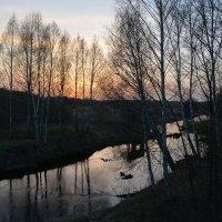 Река на закате :: Сергей Щеглов