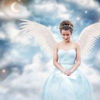 """Коллаж """"Небесный ангел"""" :: Екатерина Сачева"""