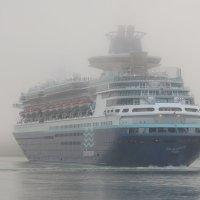 The Ship leaves into fogg :: Roman Ilnytskyi