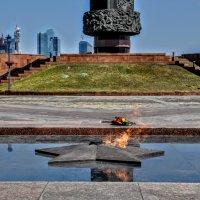 Вечный огонь на Поклонной горе :: Анатолий Колосов