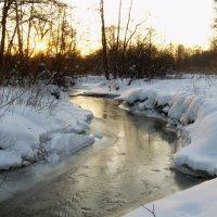 речка Серебрянка_ River Serebryanka :: Анна Воробьева