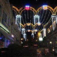 Улицы Ялты ночью :: татьяна