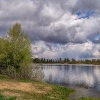 Облака на озером :: Андрей Дворников