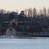 Баня на озере :: Вера Щукина