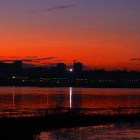 Закат на Ангаре :: Юрий Николаев