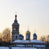храм святителя Николая :: Анна Воробьева