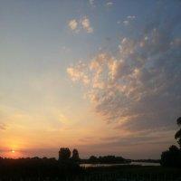 Закат над базой. :: Наталья Денисова