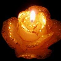 Свеча горела на столе.. :: Натали Пам