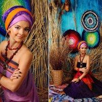 Фотосесия в стиле Африка :: Oksanka Kraft