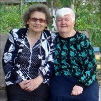 Лидия и Екатерина - мои соседки по подъезду :: Нина Корешкова