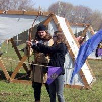 Обучение стрельбе  из  лука. :: Виталий Селиванов