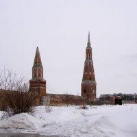 Монастырская ограда архитектор М.Ф.Казаков :: Анна Воробьева
