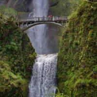Multnomah falls, Or. USA :: Ingwar