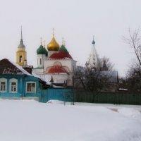 на территории Коломенского кремля :: Анна Воробьева