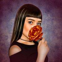 Девушка с розой :: Kristina Ipatova