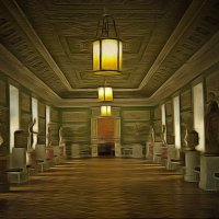 В залах павловского дворца.... :: Tatiana Markova