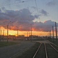 закат над Купчино :: Елена