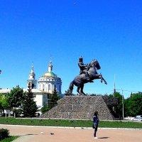 Сквер генерала  А.П.Ермолова (г. Орёл). :: Борис Митрохин