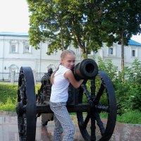 Куда-то потащила пушку.. :: Светлана Сейбянова