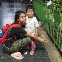 2017. Таиланд. Бангкок. ЖД вокзал (3) :: Владимир Шибинский