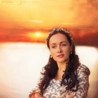 закат :: Ярослава Бакуняева