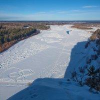 Письмена на снегу :: Анатолий Иргл