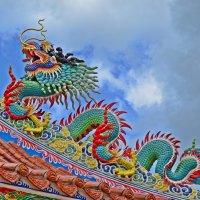 Китайский храм :: Дмитрий Боргер