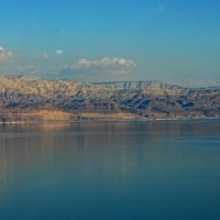Мёртвое море.  Вид на берега Иордании. :: Надя Кушнир