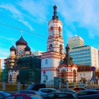 Храм великомученика Дмитрия Солунского на Благуше в Москве :: Павел Нарышкин