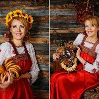 Фотосессия в русском стиле :: Oksanka Kraft