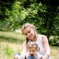 Мама и дочка :: Ольга Соколова