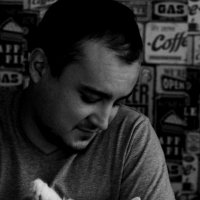 Антон и кот :: Виктория Коломиец