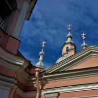 Золотые кресты Андреевского Собора... :: Sergey Gordoff