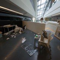 Рабочая обстановка. Факультет дизайна. Политехнический университет Гонконга :: Sofia Rakitskaia