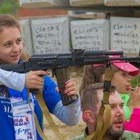 Анастасия - девчёнка боевая! :: Дмитрий Сиялов