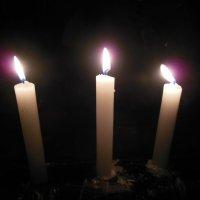 Пламя свечей... :: Татьяна