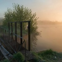 Майский туман. :: Александр Тулупов
