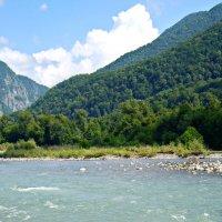 Горная речка - Мзымта :: Vladimir Perminoff