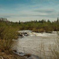 Весенняя река :: Владимир Деньгуб