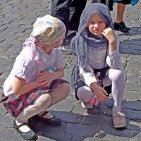 девочки из приюта :: Natalia Mihailova
