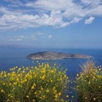 Вид на острова с перевала. о.Крит :: Евгений Палатов
