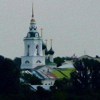 ПО ВОЛГЕ-МАТУШКЕ РЕКЕ :: Анатолий Восточный
