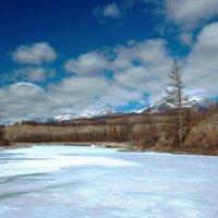Река перед ледоходом :: Анатолий Иргл